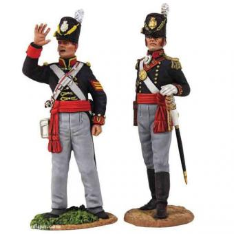 Royal Artillery Officer & NCO