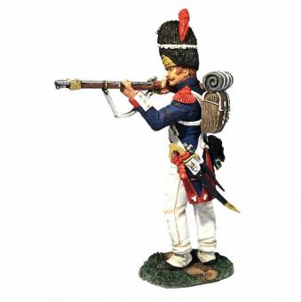 French Old Guard 2nd Rank Firing