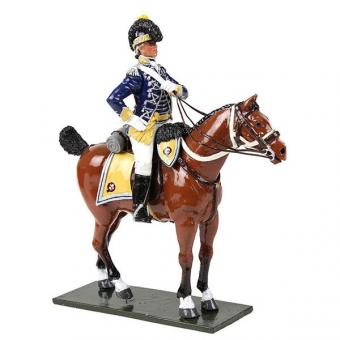 Offizier - 10th Light Dragoons - 1795