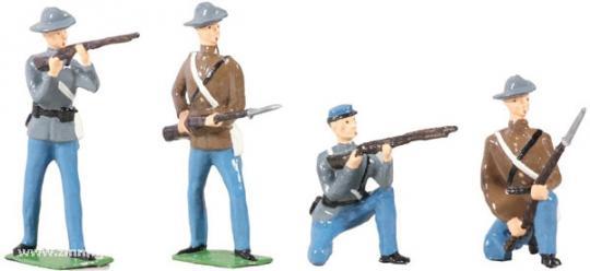 Konföderierte Infanterie