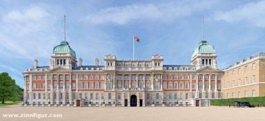 Horse Guards Parade Pre-WWI Scenic Backdrop