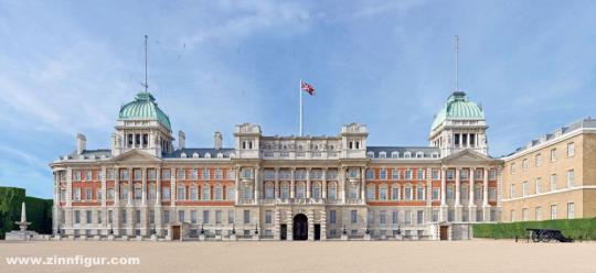 Horse Guards Parade Post-WWII Scenic Backdrop