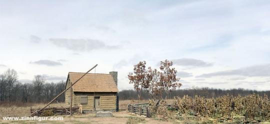 American Frontier Settlement - 18th / 19th Century Backdrop