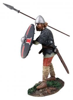 Eldwyn - Angelsächsischer Krieger - Speer werfend Nr.1