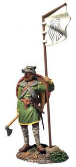 Arnlaug - Viking with Raven Banner