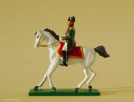 Kaiser Napoleon I. zu Pferd