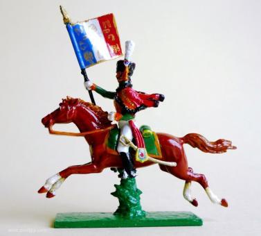 Standartenträger der Gardejäger zu Pferd