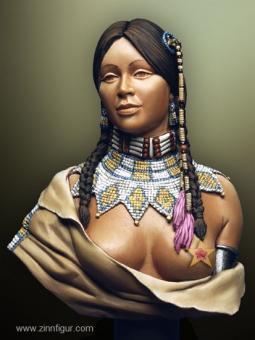 Waichiki, Indianer-Frau