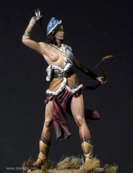 Mongolische Bogenschützin