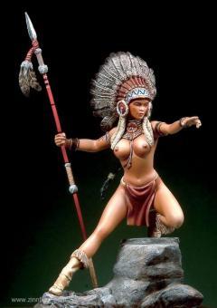 """Sweet Eagle"", Sioux Girl"