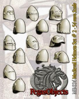 Mittelalterliche Helme 2