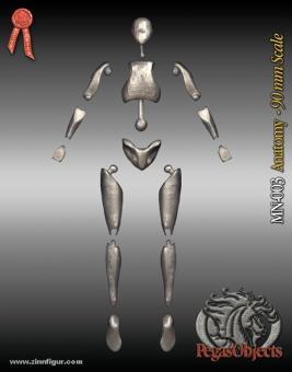 Figuren-Anatomie 90 mm