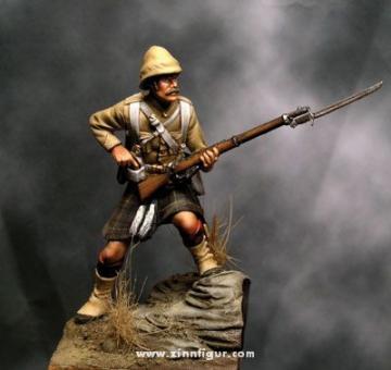 Soldat, Cameron Highlanders im Sudan
