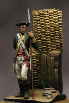 Infantry Officer Continental Army - 1780