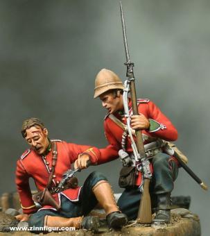 Officer & Sergeant - Zulukrieg 1879