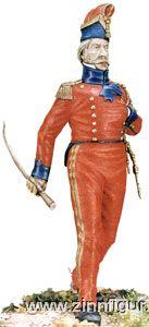 Capitaine Adjutant-Major des 2. Regiments Lanciers der Kaisergarde