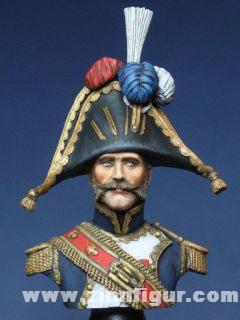 Tambourmajor der Grenadiere zu Fuß