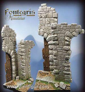 Kirchenruine / Tor-Ruine