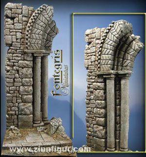 Ruinen der Normandie