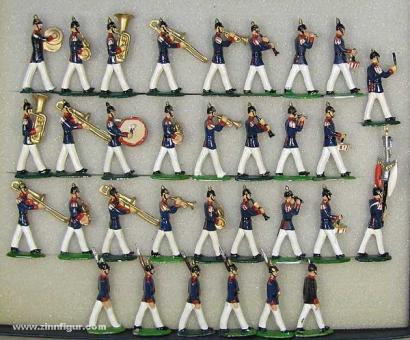 Schildkröt: Garde-Infanterie-Musik im Marsch, 1871 bis 1913
