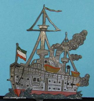Schweizer, B.: Großes Kriegsschiff (Dampfschiff), ab 1860