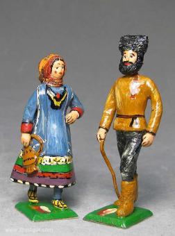Herst.unbekannt: Paar aus dem Kaukasus, 1815 bis 1870