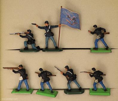 Britain: Unionsinfanterie im Kampf, 1861 bis 1865