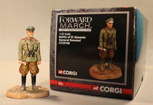 Diverse Hersteller: Corgi: General Rommel, 1939 bis 1944