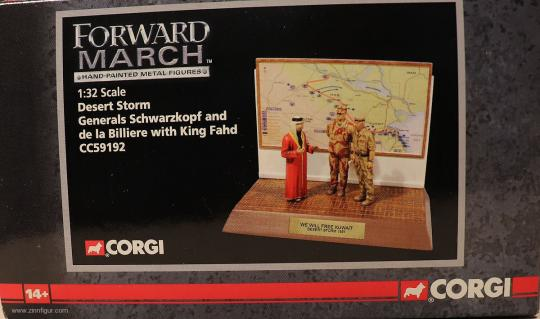 Diverse Hersteller: Corgi: Desert Storm Command 1991, 1991