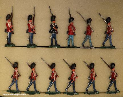 Verschiedene Hersteller: Dänische Garde Infanterie, 1871 bis 1918