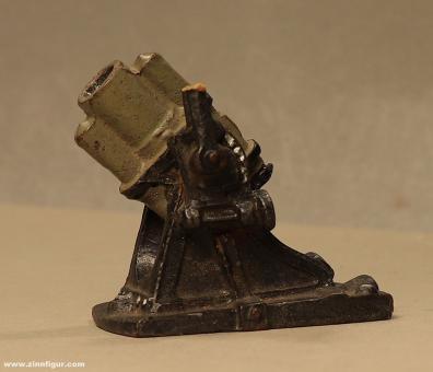 Lineol: Schwerer Minenwerfer, 1919 bis 1935