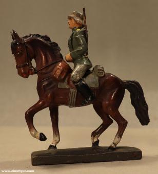 Lineol: Kavallerist reitend, 1935 bis 1945