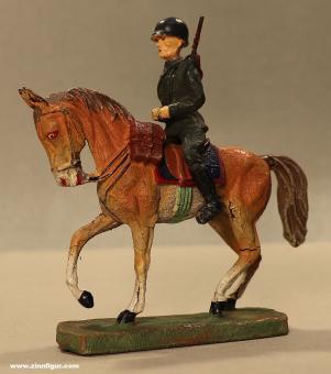 Elastolin: Bundeswehr Soldat zu Pferd, ab 1955