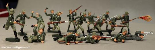 Wüsolin: Infanterie der Wehrmacht kämpfend, 1935 bis 1945