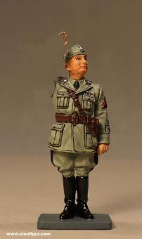 King&Country: Benito Mussolini - Der Duce grüßend, 1933 bis 1945