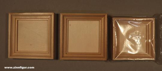 Diverse Hersteller: Drei Miniatur-Bilderrahmen