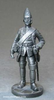 Franklin Mint: Grenadier zu Pferd, abgesessen, 1729, 1712 bis 1786