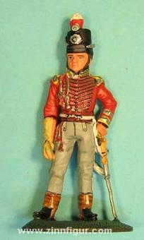 delPrado: Dragoneroffizier mit Tschako, 6. Dragoons 1811, 1811
