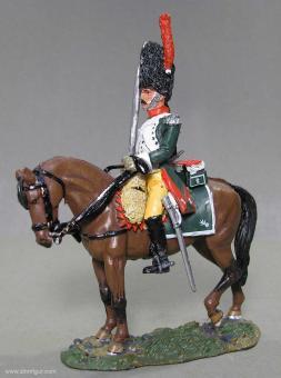 delPrado: Elitedragoner, Guide zu Pferd, 1810, 1797 bis 1801