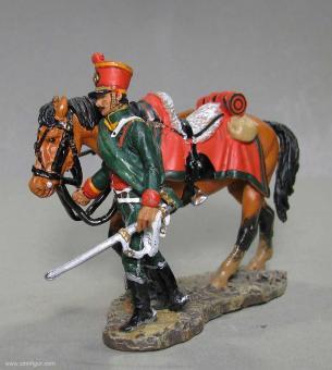 delPrado: Leichter Kavallerie: Kaiser-Jäger zu Pferd, 1812, 1797 bis 1801