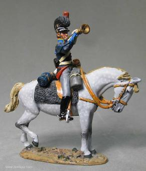 delPrado: Trompeter des 11. Kavallerieregiments, 1806 bis 1810