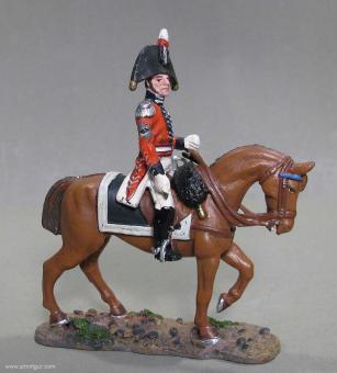 delPrado: Britischer Stabsoffizier zu Pferd, 1815, 1815
