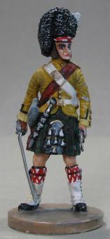 Diverse Hersteller: Highland-Offizier, 1815 bis 1870