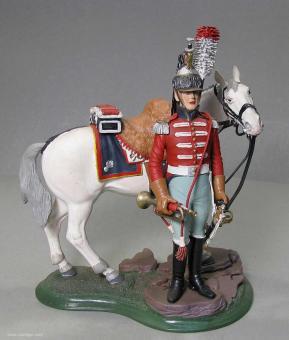 Poste Militaire: Trompeter der Kürassiere, 1804 bis 1813