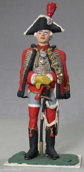 Hussar: General der Husaren um 1786, um 1786