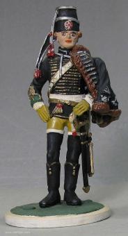 Tradition: Husar stehend, 1756 bis 1763
