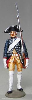 Tradition: Gardist vom Regiment 15, 1712 bis 1786