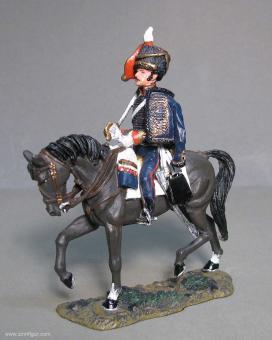 delPrado: Husar der KGL bei Waterloo 1815, 1813 bis 1815