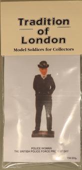 Tradition: Britische Polizistin, 1990 bis 2018