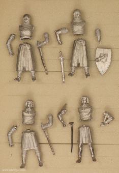 Diverse Hersteller: Ritter und Pagen beim Turnier, 11. Jh. bis 15. Jh.